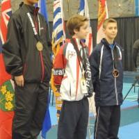 Championnat Canadien de Karaté: Médaille de Bronze pour Alexandre Lemarier