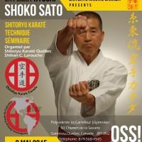 Kyoshi Shoko Sato, 8e dan à Gatineau