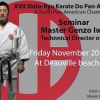 17e Championnat Pan Américain de Karaté Shito Ryu