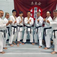 Nouveaux gradués de la ceinture Noire au dojo !
